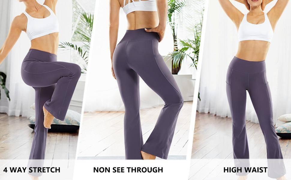yoga pants bootleg